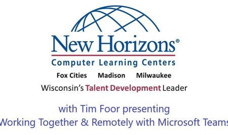 "Tim Foor. presenting ""Working Together & Remotely with Microsoft Teams"""